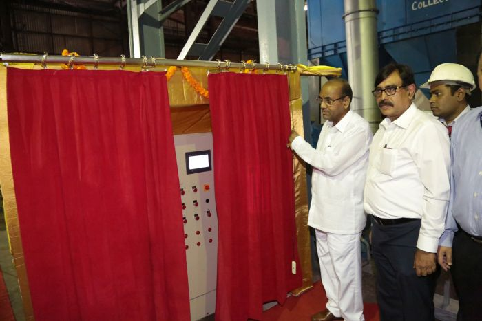 Inauguration of Sand Reclamation Unit at FFP